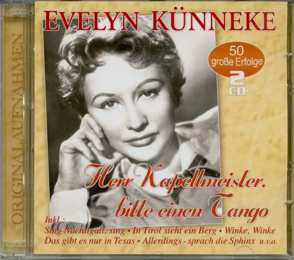 Herr Kapellmeister, bitte einen Tango - 50 Erfolge (2-CD)