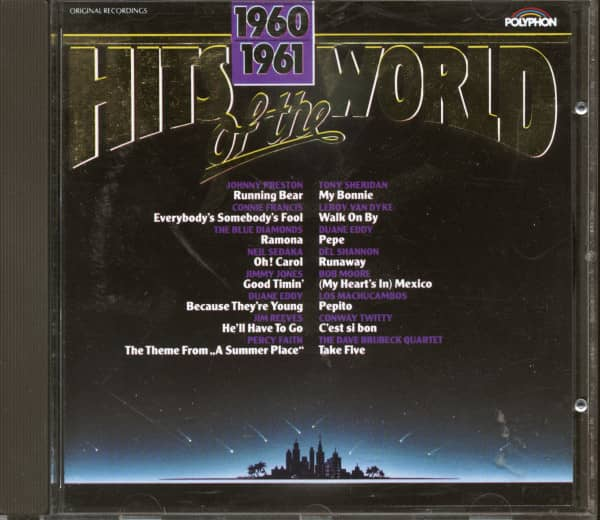 Hits Of The World 1960-61 (CD)