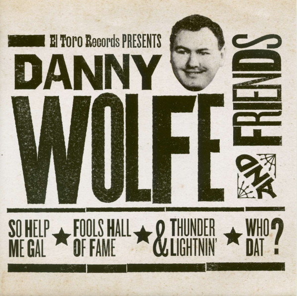 Danny Wolfe & Friends (33rpm, EP, PS, SC)