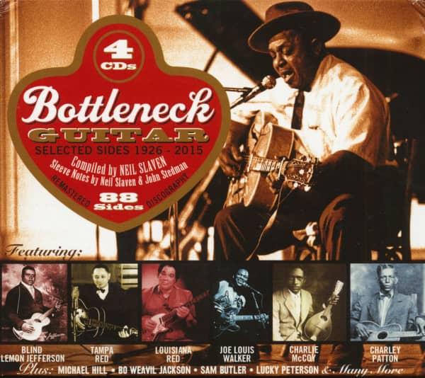 Bottleneck Guitar - Selected Sides 1926-2015 (4-CD)