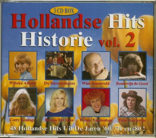 Hollandse Hits - Historie Vol. 2 (3-CD)