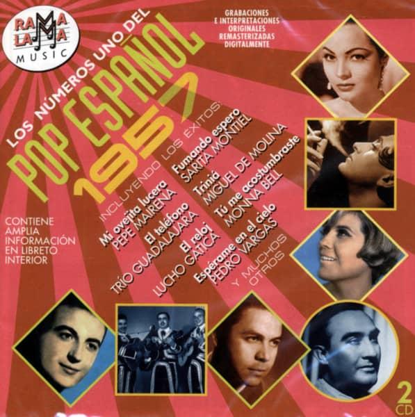 Los Números Uno Del Pop Espanol - 1957 (2-CD)