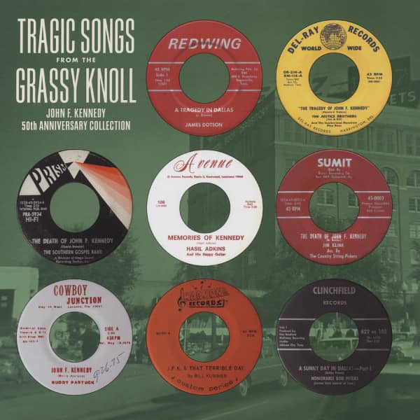 Tragic Songs From The Grassy Knoll - John F. Kennedy 50th Anniversary Collection (Green Vinyl) Limit