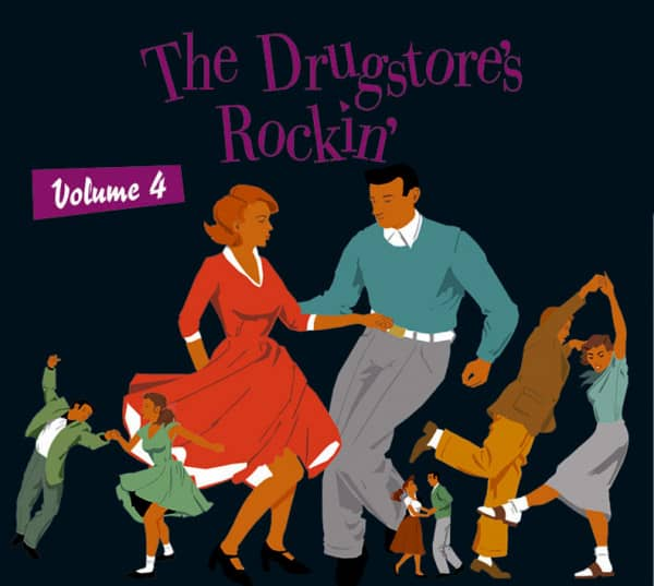 Vol.4, The Drugstore's Rockin' (CD)