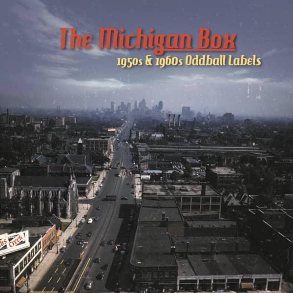 The Michigan Box 1950s - 1960s Oddball Labels (10-CD Box)