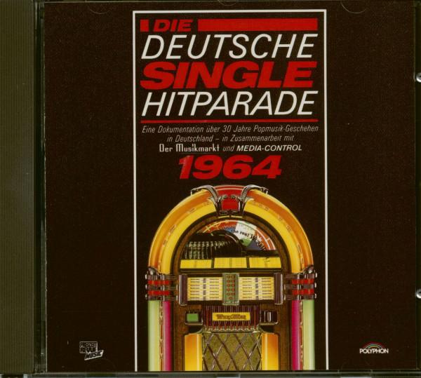 Die Deutsche Single Hitparade 1964 (CD)