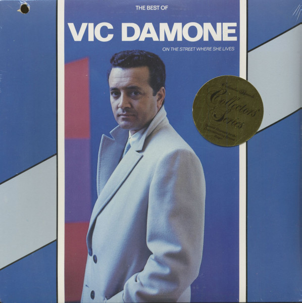 The Best Of Vic Damone - On The Street Where She Lives (LP, Cut-Out)
