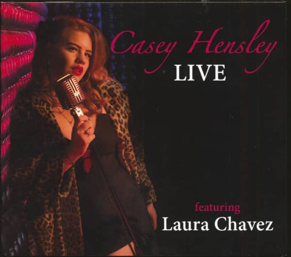 Live Featuring Laura Chavez (CD)