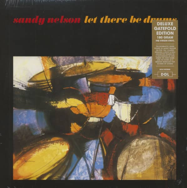 Let There Be Drums (LP, 180g Vinyl)