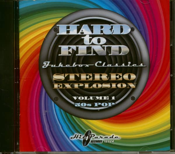 Stereo Explosion Vol.1 - 50s Pop Hard To Find Jukebox Classics (CD)
