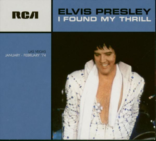 I Found My Thrill - Las Vegas January - February '74 (CD)