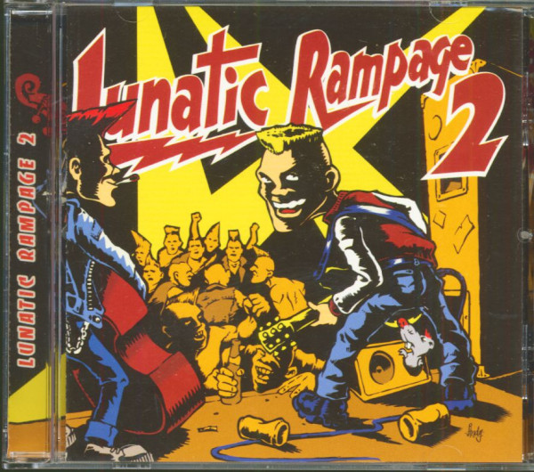 Lunatic Rampage Vol.2 (CD, Ltd.)