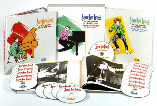 Jerry Lee Lewis At Sun Records The Collected Works (18-CD & 2 Books)