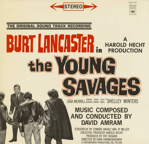 The Young Savages - Soundtrack (LP)