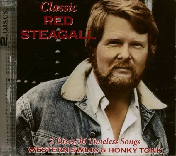 Classic Red Steagall - Western Swing & Honky Tonk (2-CD)
