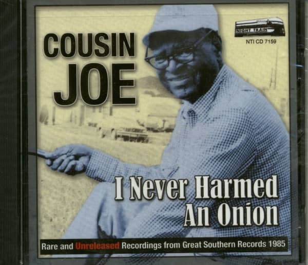 I Never Harmed An Onion (CD)