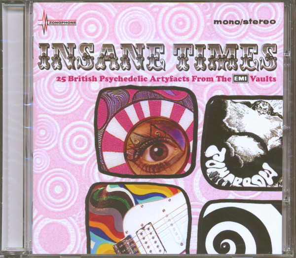 Insane Times - 25 UK Psychedelic Artifacts From The EMI Vaults (CD)