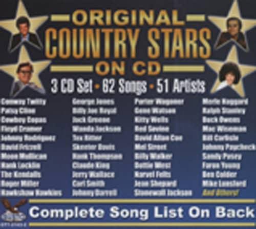 Original Country Stars On CD (3-CD)