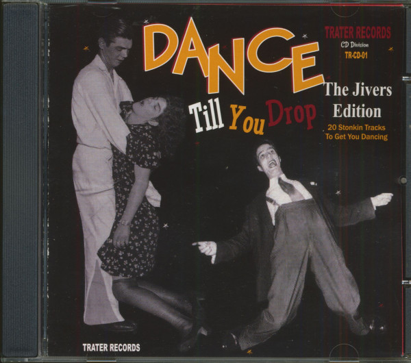 Dance Till You Drop - The Jivers (CD)
