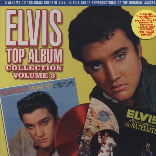 Vol.2, Top Album Collection 5x180g Vinyl