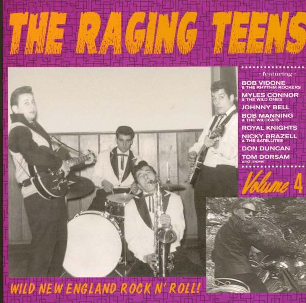 Raging Teens Vol.4 - Wild New England Rock'n'Roll (LP)
