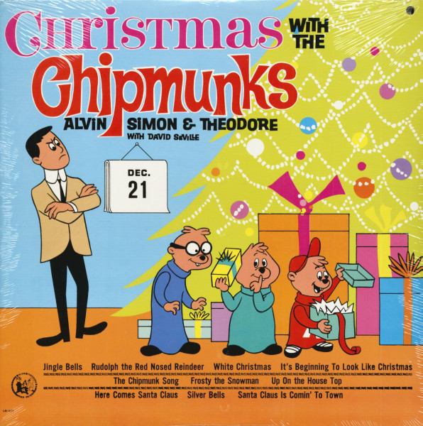 Christmas With The Chipmunks (LP)