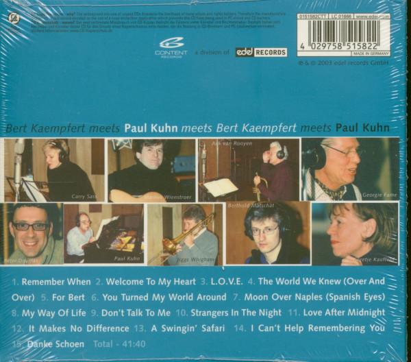 Paul Kuhn Meets Bert Kaempfert - Remember When (CD)