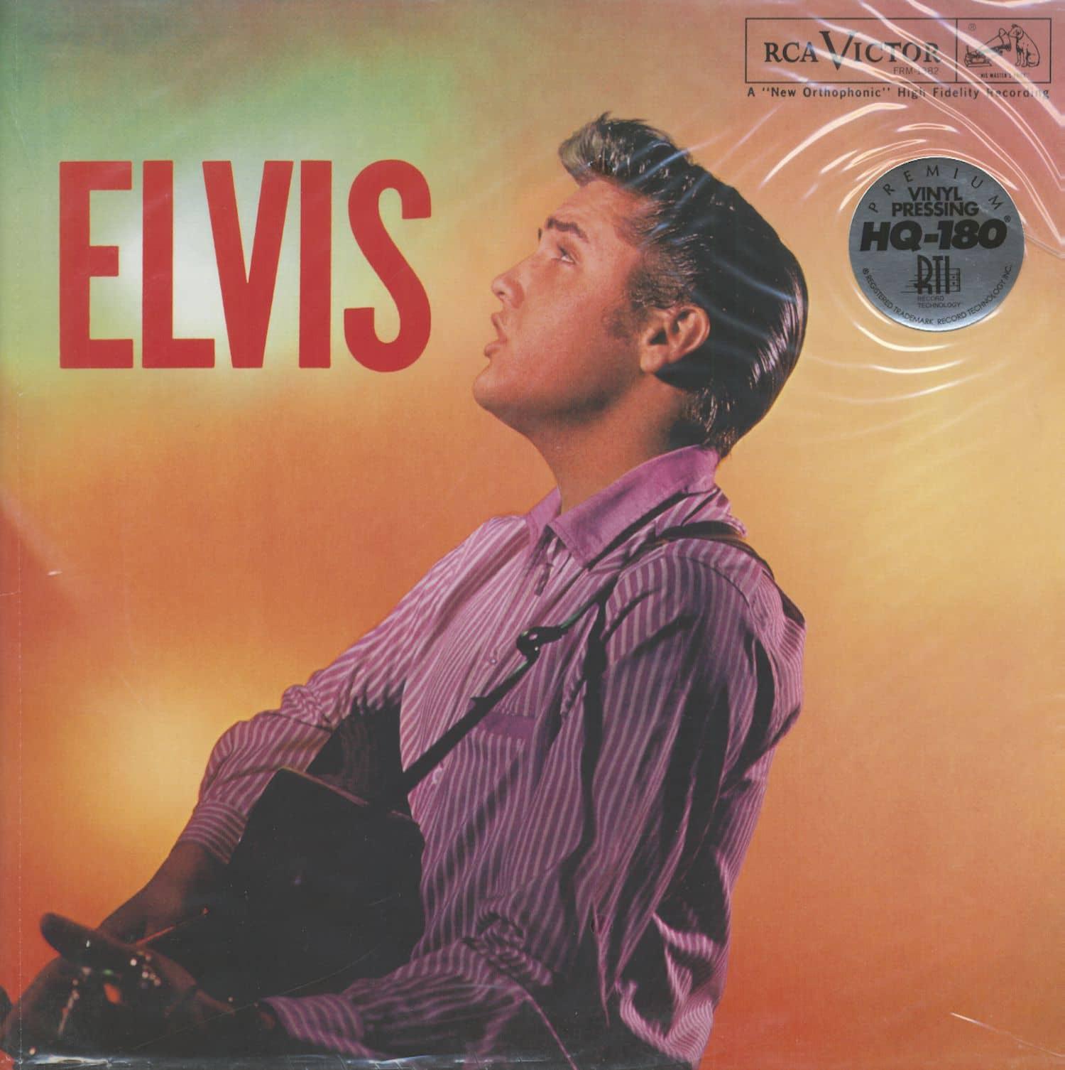 Elvis Presley Lp Elvis Lp 180g Vinyl Bear Family Records