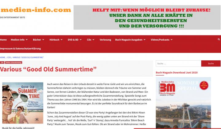 Presse-Archiv-Good-Old-Summertime-33-Hot-Sunny-Gems-For-Your-Summer-Holidays-media-info