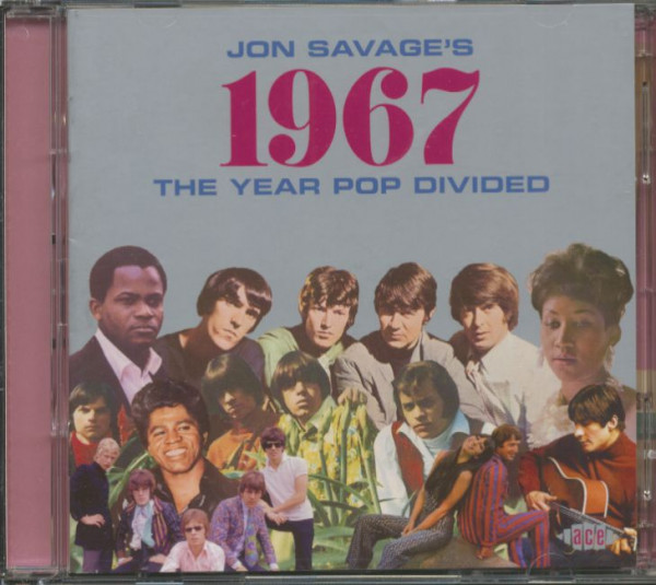 Jon Savage's 1967 - The Year Pop Divided (2-CD)