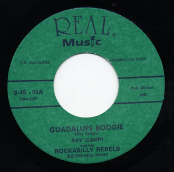 Guadalupe Boogie - I'm A Fool About Your Loving (7inch, 45rpm)