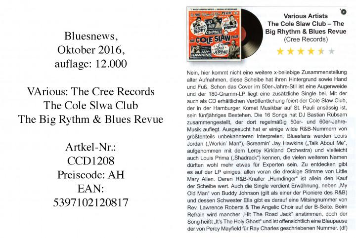 TheColeSlawClub_Bluesnews_Oktober2016