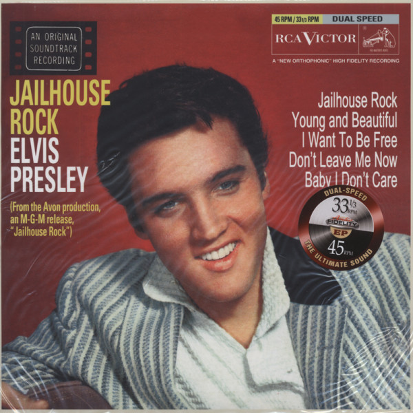 Jailhouse Rock EP (Dual Speed 33&45rpm)