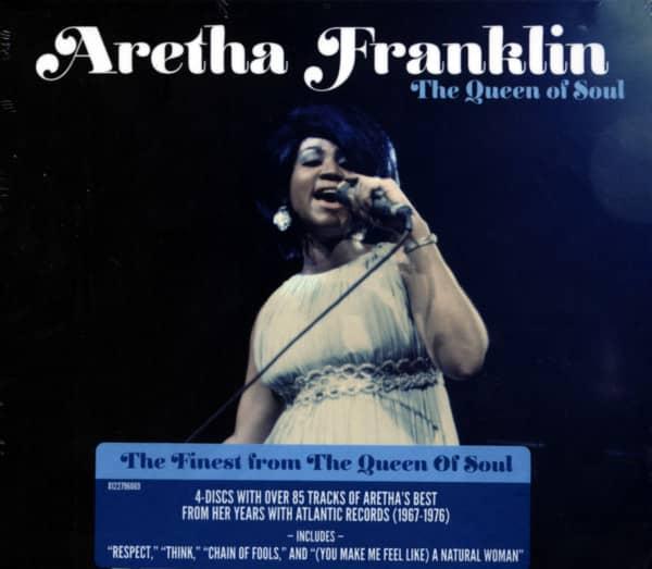 The Queen Of Soul (4-CD)