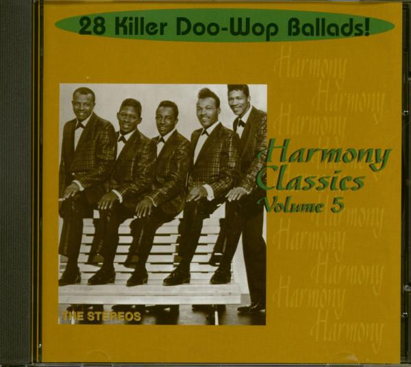 Harmony Classics Vol.5 - 28 Killer Doo-Wop Ballads! (CD)