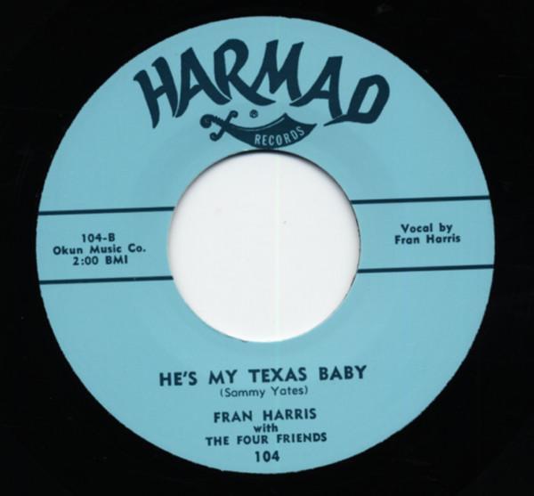 He's My Texas Baby b-w Naughty Baby 7inch, 45rpm