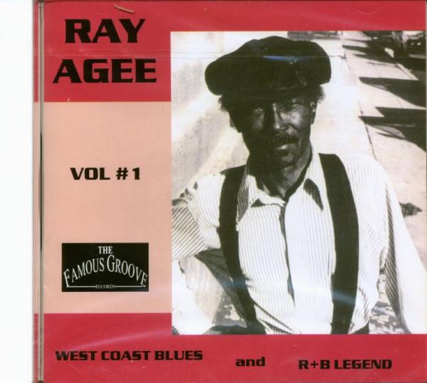 West Coast Blues And R&B Legend Vol.1 (CD)
