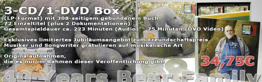 40 Years Bear Family Records (3-CD/1-DVD)