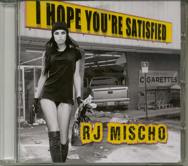 I Hope You're Satified (CD)