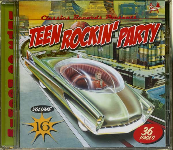 Teen Rockin' Party Vol.16 (CD)