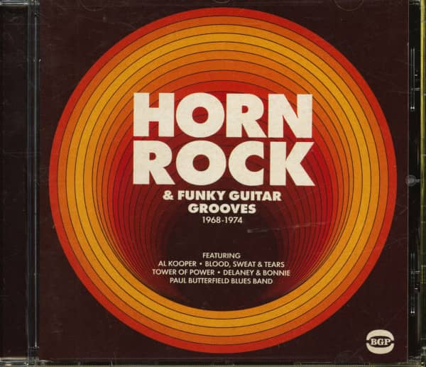 Horn Rock & Funky Guitar Grooves 1968-1974 (CD)