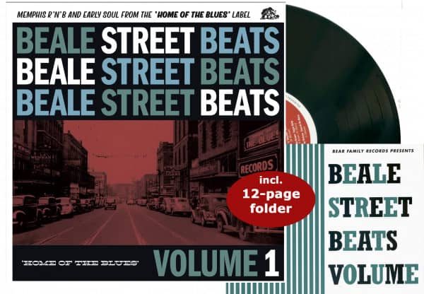 Beale Street Beats, Vol. 1 - Home Of The Blues (LP, 10inch, 45rpm)