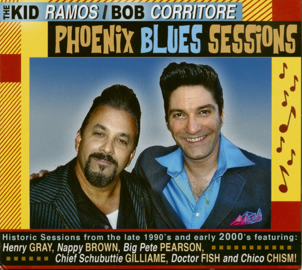 From The Vaults: Phoenix Blues Sessions (CD)