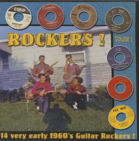 Rockers - 14 Very Early 1960's Guitar Rockers Vol.1 (LP)