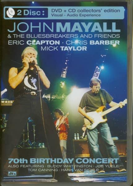 70th Birthday Concert (DVD + CD)