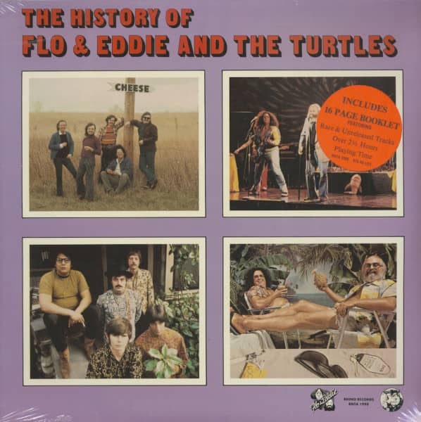 The History Of Flo And Eddie And The Turtles (3-LP)