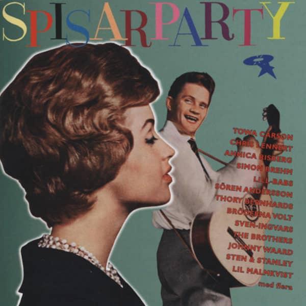 Spisarparty 1957-64 Swedish Rock & Roll