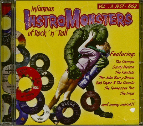 Infamous Instro Monsters Of Rock'n'Roll Vol.3 (CD)