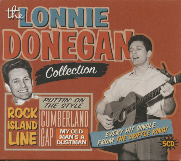 Lonnie Donegan Collection (5-CD)