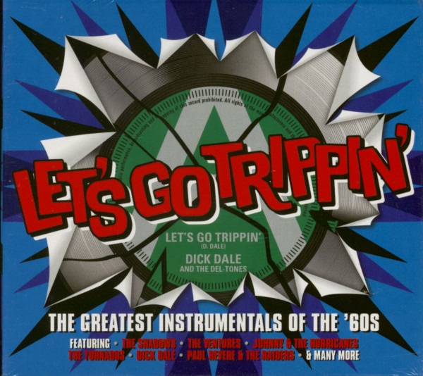 Let's Go Trippin' - The Greatest Instrumentals Of The ´60s (3-CD)